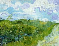 Vincent Van Gogh Green Wheat Fields oil painting reproductions for sale