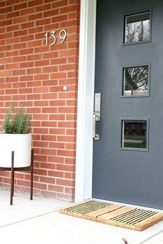 My Front Entry (Part I) - House*Tweaking-door paint – Behr Evening Hush