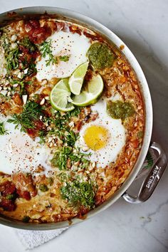 Baked eggs, North Indian style (from the upcoming cookbook, Seven Spoons) | Tara O'Brady
