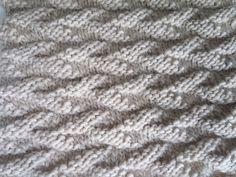 Easy Knitting, Knitting Stitches, Knitting Patterns, Quilling Art, Knitting Projects, Stitch Patterns, Knitted Hats, Knit Crochet, Handmade