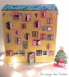 advent calendar ✭ DIY kids christmas craft via Au pays des Cactus