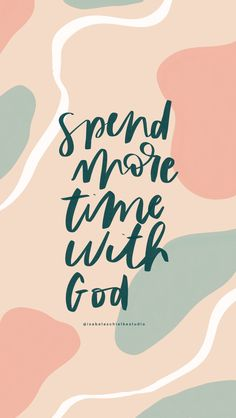 Spend more time with God Biblical Quotes, Bible Verses Quotes, Faith Quotes, Spiritual Quotes, Positive Quotes, Scriptures, Christian Life, Christian Quotes, In Christ Alone