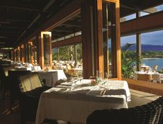 Even if you're not staying at hotel Mauna Kea, you should come to its flagship restaurant, Manta, for dinner. It's an especially good date-night spot, with