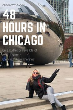 Looking for things to do in Chicago? Food, fashion and fun - The Windy City should be on your bucket list. Weve got the perfect itinerary on how to see Chicago in a weekend! #Chicago #Thingstodo #travel #Photography