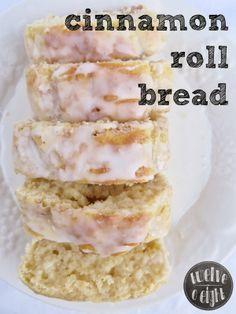 Cinnamon Roll Bread - twelveOeight - #cinnamonrollbread #quickbread #breadrecipe #christmasbread #cinnamonbread