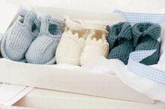 Knitting pattern: Baby booties - Free knitting patterns