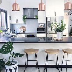 @Regrann from @mynordicroom: ⠀ // One of our favorite kitchens by the lovely @homesbycaz / Do you wish to inspire fellow Nordic interior lovers with your christmas decorations? / Hashtag #MYNORDICCHRISTMAS and share your photos with us and the rest of the MYNORDICROOM community  / We look forward to sharing your christmas pictures! ✨ / Be a part of our family and tag your photo with #mynordicroom  //⠀ Photo credit: @homesbycaz ⠀⠀ .⠀ .⠀ .⠀ Don't miss out on your daily Nordic interior des...