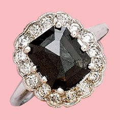 Love this black diamond ring