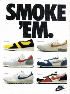Vintage Nike Ads-Running Shoes