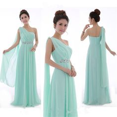 Find More Information about Long Mint Green Bridesmaid Dress One Shoulder High Quality Chiffon Party Dresses Light Yellow Bridesmaid Dresses Under $50,High Quality dress back,China shoulder knot Suppliers, Cheap shoulder evening dress from Princessally Dresses Store on Aliexpress.com