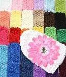 "Crochet Headbands - Crochet 1.5"" Variety Pack Plus"