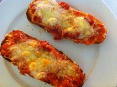 Pan Pizza. Ver receta: http://www.mis-recetas.org/recetas/show/1151-pan-pizza
