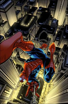 The Amazing Spider-man.