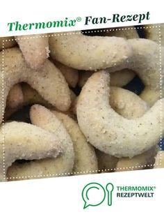 Pippi's Vanillegipferl Plätzchen - Thermomix - #Pippis #Plätzchen #Thermomix #Vanillegipferl