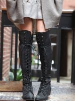 Our Go-To Transitional Footwear: Knee-High Boots #refinery29