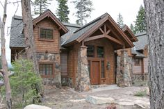 """The Pinnacle Lodge is a 3,500 square foot hybrid timber frame """"mini-lodge"""" style home located in Tamarack Resort. It's vaulted ceilings and exposed interior timber frame """"wow"""" it's guests and provide a wonderful interior environment for all to enjoy from every room. Aside from the main gathering area of the …"""
