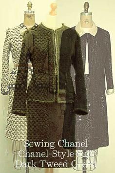 inspirations on Internet, Vintage Classics Chanel Fashion, Chanel Style, Vintage Classics, Chanel Couture, Vintage Jacket, Vintage Chanel, Coco Chanel, Tweed, Design Inspiration