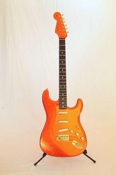 "Kenny Wayne Shepherd ""Copperboy"" Custom Shop Masterbuilt Stratocaster by Todd Krause Guitar Room, Music Guitar, Cool Guitar, Playing Guitar, Stratocaster Guitar, Fender Guitars, Kenny Wayne Shepherd, Cool Electric Guitars, Fender Custom Shop"