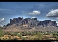 """LOST Read about the Lost Dutchman Gold Mine, hidden in the """"cursed"""" Superstition Mountains, according to legend the site of an ancient Apache treasure trove."""