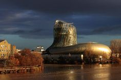 La Cité du Vin - larson ® PE Holo - Bordeaux (FRANCE)