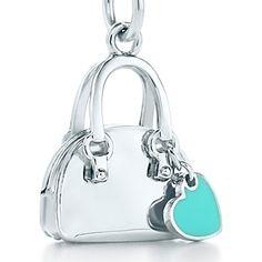 TIFFANY  - Ciondolo borsetta Tiffany Blue