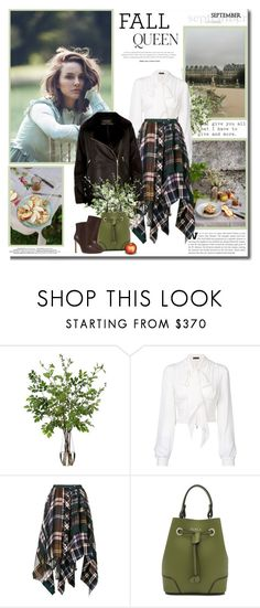 """""""Anyone can count the seeds in an apple, but only God can count the number of apples in a seed."""" by lilly-2711 ❤ liked on Polyvore featuring Diane James, Plein Sud, Sacai, Furla, Nine West and Emma Watson"""