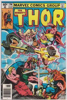 Thor Marvel Comics #296 Vol1 NM 9.4