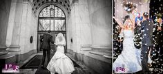 Leslie and Joe's Wintery Downtown Club Wedding