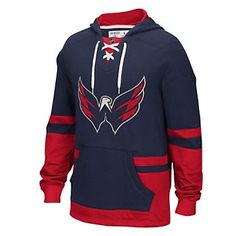 Men's CCM Washington Capitals Finished Pullover Hoodie