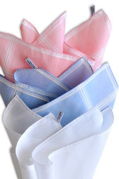 Handkerchiefs are meant to be refined.  It's part of their nature (if they have such a thing).