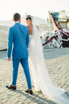 Katie and German: our beloved couple chose to get married in Paros. With extremely different backgrounds they decided on a fusion soft colors with a romantic theme. Got Married, Getting Married, Romantic Themes, Paros, Something Beautiful, Languages, Russia, German, Backgrounds