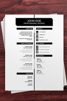 Download this Free Resume Example to stand out in your job search