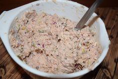 Pastă din pește afumat cu murături - Rețete Merișor Sushi, Mashed Potatoes, Oatmeal, Grains, Food And Drink, Rice, Breakfast, Ethnic Recipes, Canning