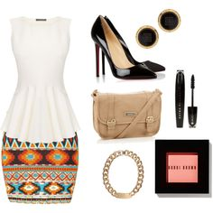 """""""aztec chic"""" by esaquiimera on Polyvore"""