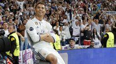 @CR7 Cristiano Ronaldo celebra su gol ante el Atleti en las Semifinales de Liga de Campeones #UCL #Champions #RealMadrid #UCL #HalaMadrid #CR7 #Cristiano #CristianoRonaldo #9ine