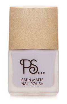 Primark - PS Satin Matte Lilac Nail Polish