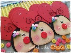 BUHOS Y PINGUINOS TOMADOS DE LA WEB... :: RT Decoraciones y algo más... Foam Crafts, Diy And Crafts, Crafts For Kids, Arts And Crafts, Paper Crafts, Class Decoration, Punch Art, Christmas Art, Creative Gifts