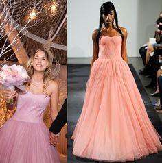 Kaley Cuoco e il suo matrimonio la notte di San Silvestro #kaleyCuoco #celebritywedding #wedding #weddingsista #verawang #pink