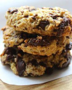 Bitter Çikolatalı Yulaflı Kurabiye - Nesrin Kismar #yemekmutfak