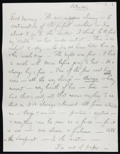 The Letters of Greats: From Ernest Hemingway to Georgia O'Keeffe, a Glimpse of Famous Correspondence | Brain Pickings