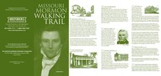 Missouri Mormon Walking Trail Brochure
