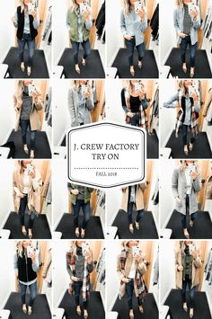 J. Crew Factory Try On – Fall 2018 J Crew Outfits b1982533d8fa