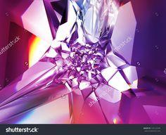 beautiful purple crystal fashion background