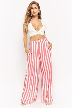 Forever 21 is the authority on fashion & the go-to retailer for the latest trends, styles & the hottest deals. Shop dresses, tops, tees, leggings & more! Shop Forever, Forever 21, Honeymoon Outfits, Palazzo Pants, Mall, Latest Trends, Trousers, Leggings, My Style