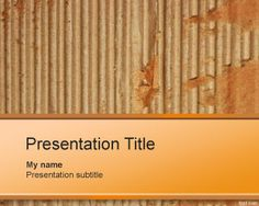 Cardboard PowerPoint Template is a free cardboard box design powerpoint background for pulp and paper industry. Useful for presentations by companies or businesses engaged in manufacturing paper boxes. Simple Powerpoint Templates, Powerpoint Template Free, Tema Power Point, Wallpaper Powerpoint, Paper Industry, Cardboard Design, Box Design, Presentation Templates, Branding Design