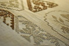 Beatrix Potter Quaker Sampler - Belle Soie colors: Cinnamon Stick, Baguette, Tortoise Shell, Mudpie, Vanilla Pudding and Walk the Plank. From Diane Williams/Little House Needleworks