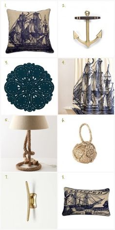 Nautical Style in Interior Design - How to Get the Look