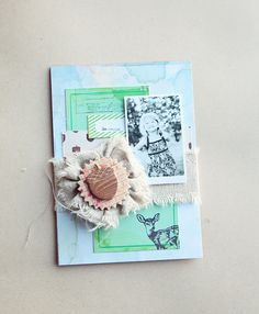 Scrapbooking with Fabric + Acorn Avenue {Megan Klauer} - Crate Paper