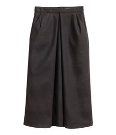 Calf-length Skirt   Black   Ladies   H&M US