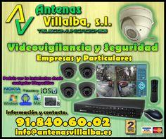 cctv, vigilancia y seguridad en viviendas, empresas..